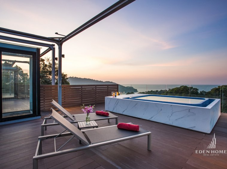 EHI-171- Eden Home Thailand sellapartment sea view in Patong