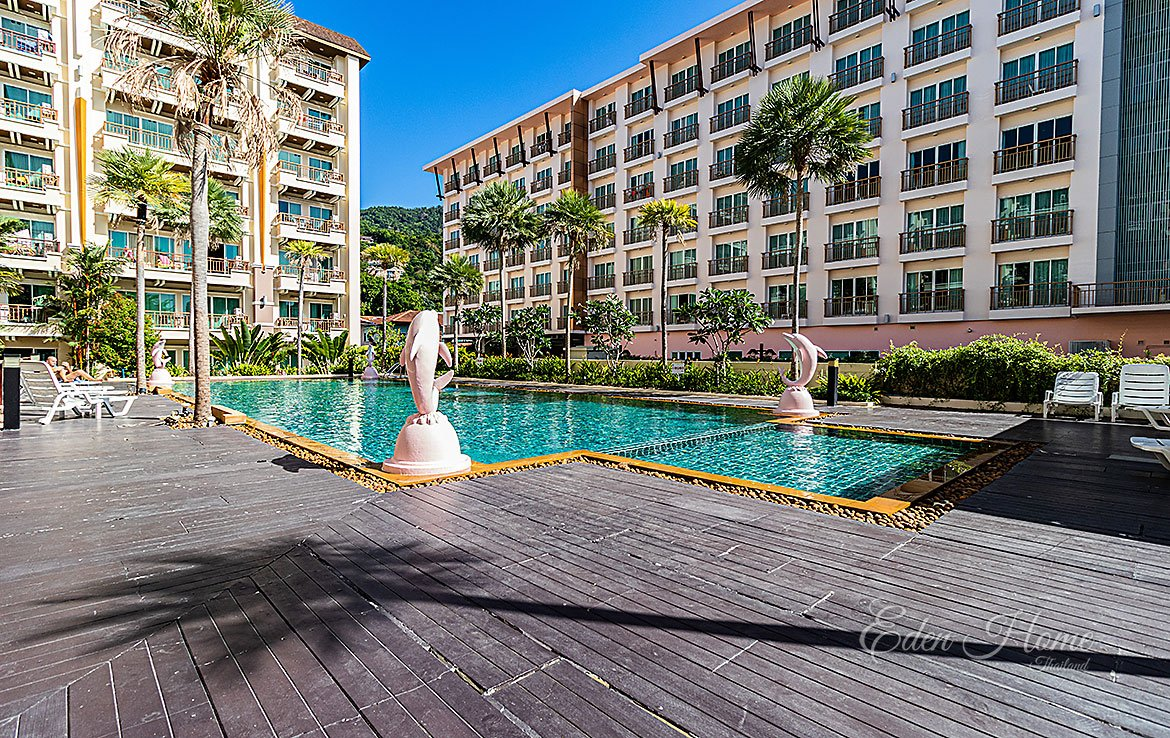 EDH_Patong Pool Access apartment for invest
