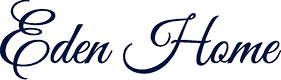 Logo Eden Home World - Retina Blue